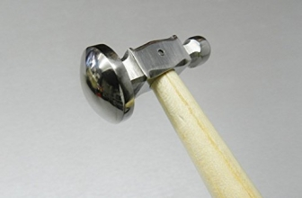 Chasing hammer full dome 1 inch head